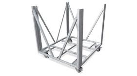 Bullstage Stage-Barrier Rollwagen